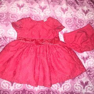 carters floral lace dress